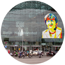 Angela Merkel Button